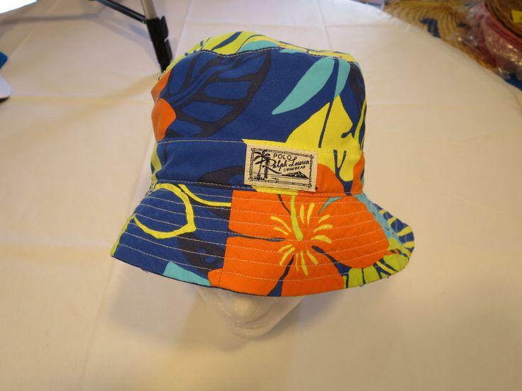 Polo Ralph Lauren bucket hat cap 71059473001 tropc RARE reversible S/M NEW Mens  #PoloRalphLauren #hat