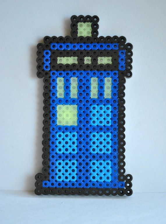 17 best images about perler patterns perler bead doctor who tardis police box perler bead sprite