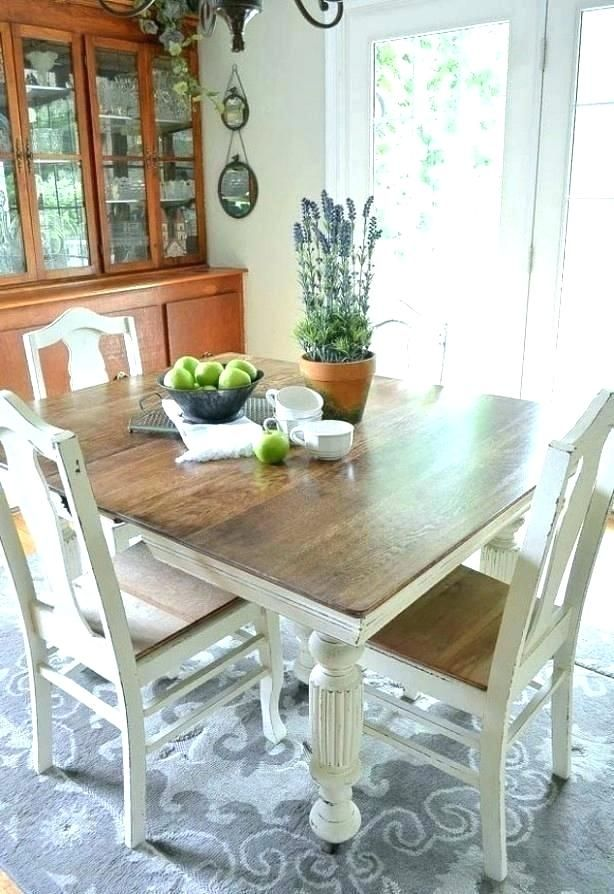 Painted Dining Room Table Painted Kitchen Tables Painted Furniture Diy Dining Room Farmhouse Dining Room Table Diy Dining Room Table