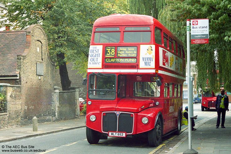 London's lost, and greatly missed, Routmaster bus.