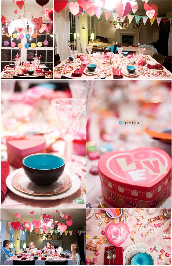 144 best images about valentine 39 s day sweet treats 39 love for Valentine dinner party ideas