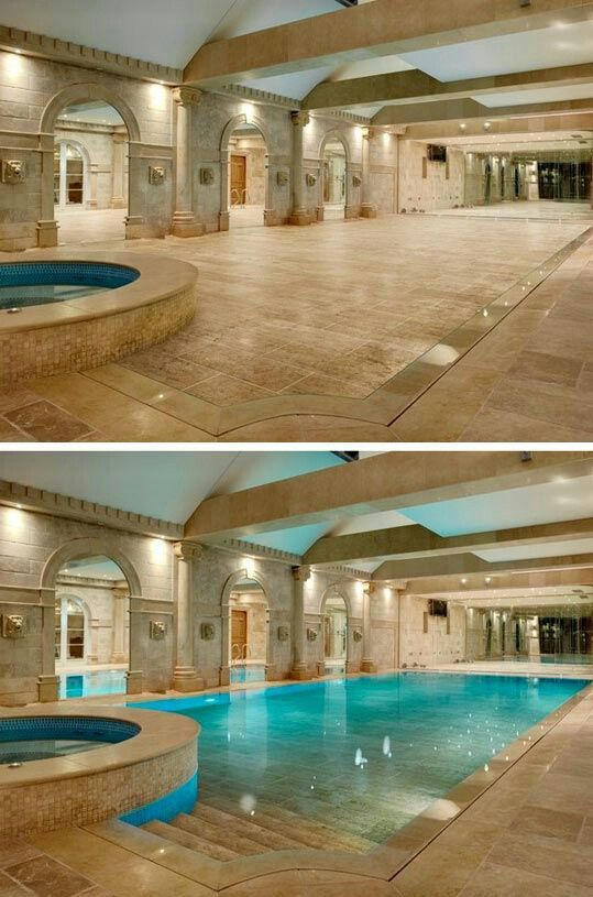 Don't like indoor pools, but this is really cool-luxury beyond belief