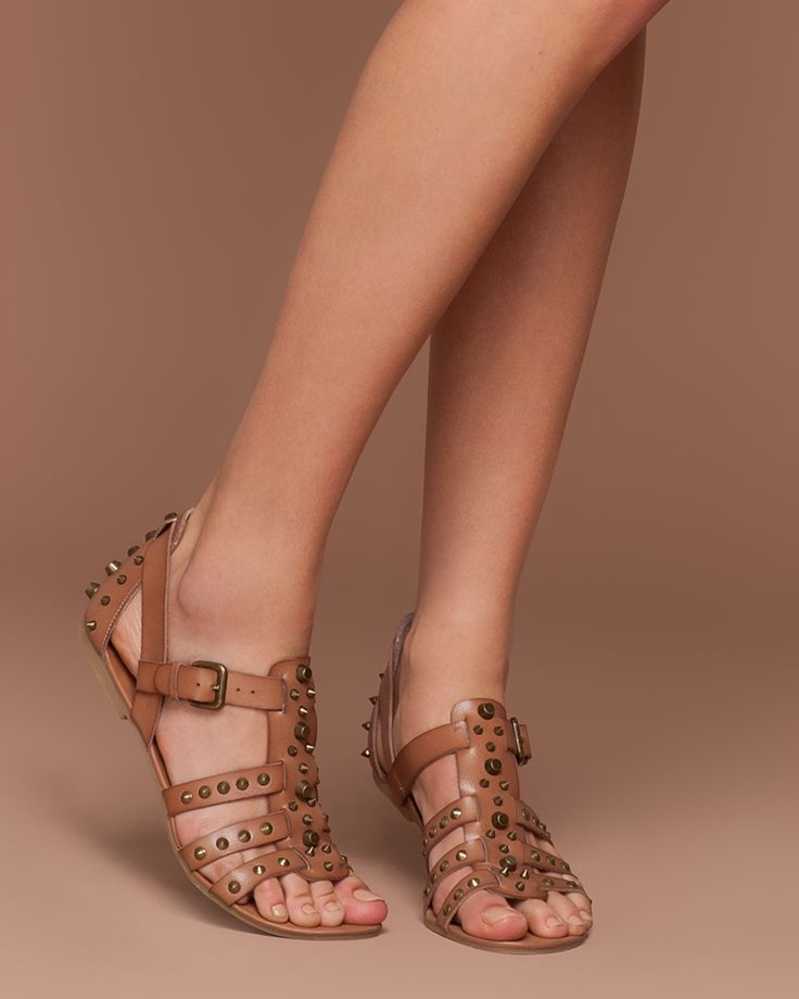 Usually not a fan of the gladiator style sandle...but these are cute!