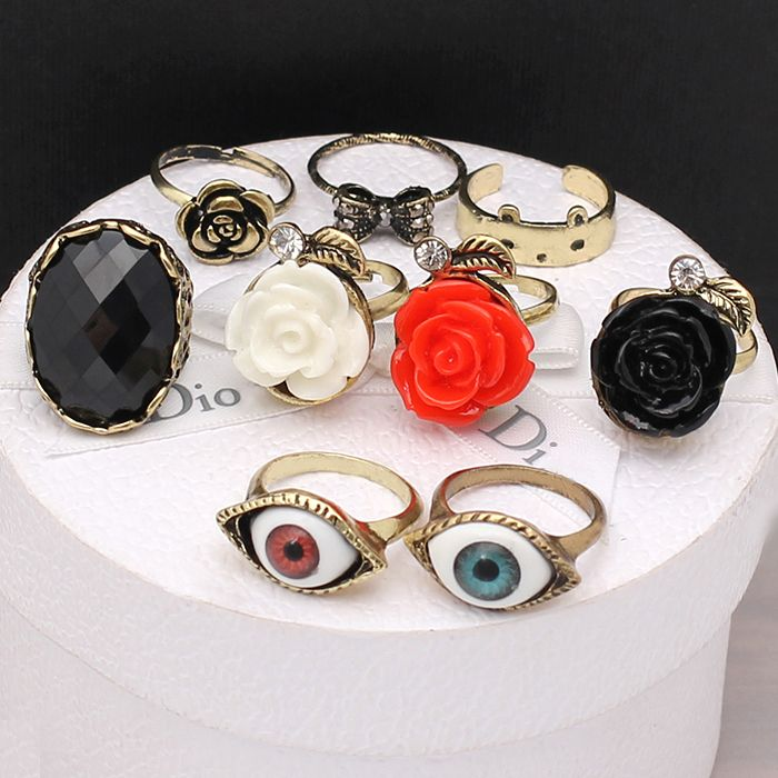 cute rings,cheap fashion ring ,jewelry only 0.99 shop at www.costwe.com  ,big discounting