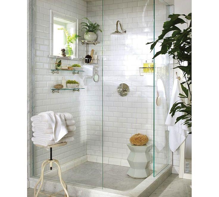 106 best White Subway Tile Bathrooms images on Pinterest | Bathroom ...