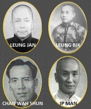 Legends of Wing Chun. The masters
