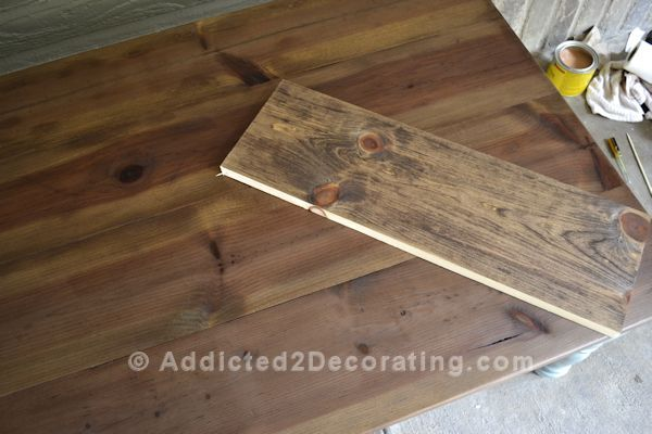 My Experience Staining Wood With Tea, Steel Wool And Vinegar