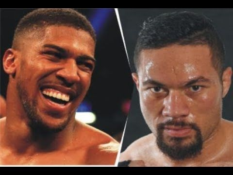 ANTHONY  JOSHUA VS JOSEPH PARKER INITIAL THOUGHTS