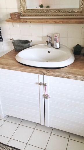 die besten 25 waschbeckenunterschrank ideen auf pinterest waschbeckenunterschrank holz. Black Bedroom Furniture Sets. Home Design Ideas