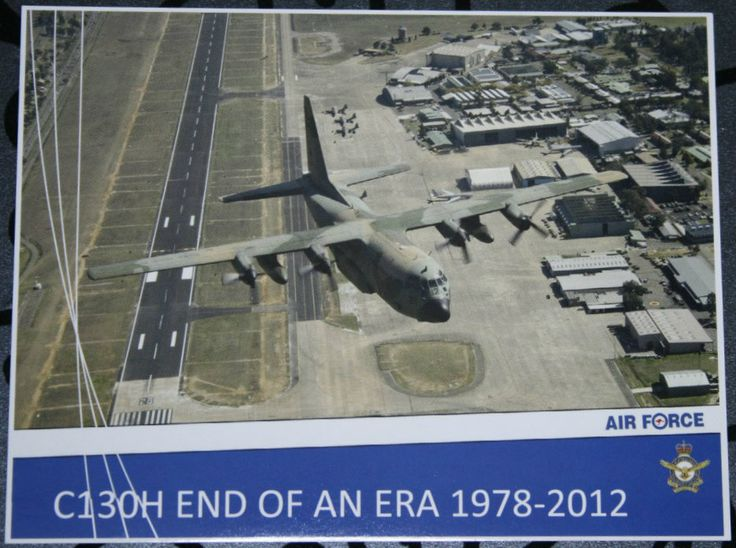 "Defence Gifts - POST CARD C-130H ""End of an Era"", $0.50 (http://www.defencegifts.com.au/post-card-c-130h-end-of-an-era/)"