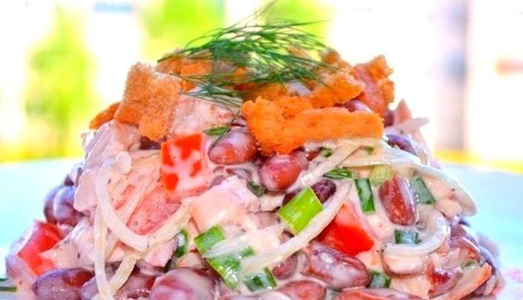 Вкусные недорогие салаты к новому году