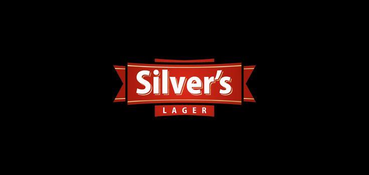 Silver´s Lager Beer Logo Design