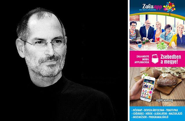 61 éve született Steve Jobs az Apple cég alapítója! Zsebedben az infócsomag! - (02. 24.) - Zala app, Zala megy és Zalaegerszeg ingyenes mobil alkalmazása!