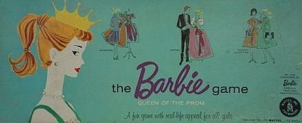 Vintage Board Games - The Barbie Game