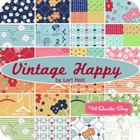 Vintage Happy Fat Quarter Bundle Lori Holt for Riley Blake Designs - Fat Quarter Shop