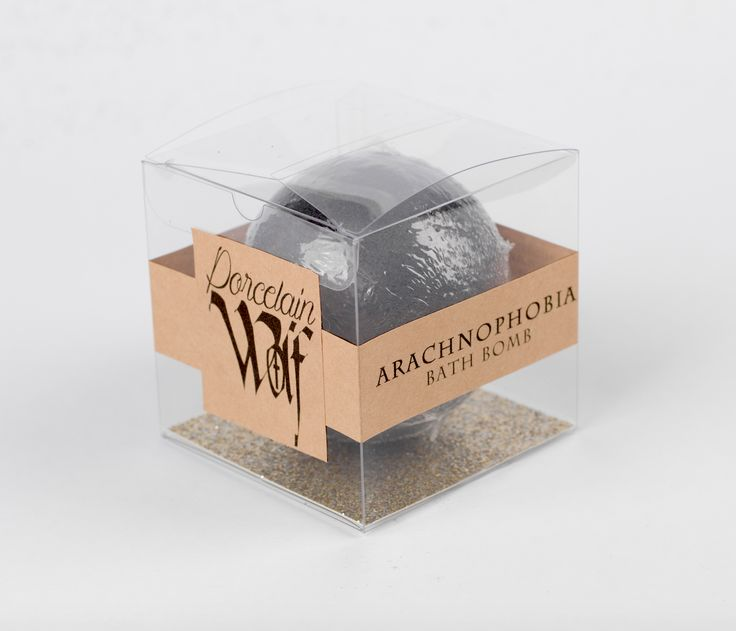 Have one of your biggest fears come to life in your bathtub w/ our Arachnophobia bath bomb. Arachnophobia Bath Bomb fragrance is Black Cherry -Toy...
