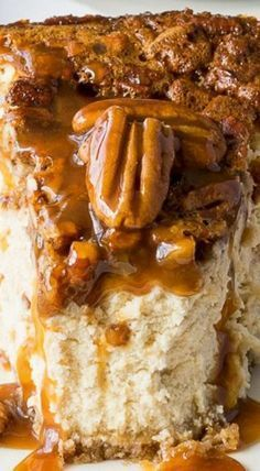 Brown Sugar Pecan Pie Cheesecake