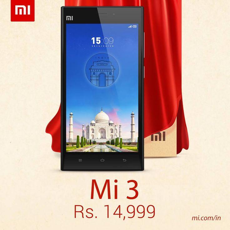 Xiaomi Mi 3 Specs, price and release date in India #XiaomiMi3 #gadgets