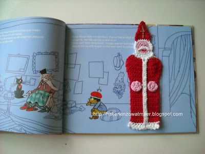Gratis patronen: Sinterklaas boekenlegger