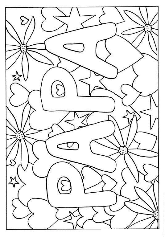 * VATI! Vatertag zeichnen. Vatertagsfärbung – #co…