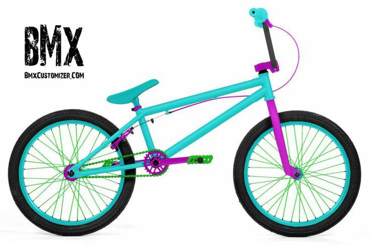 Bmx Customizer Bmx Color Designer Customize Your Own