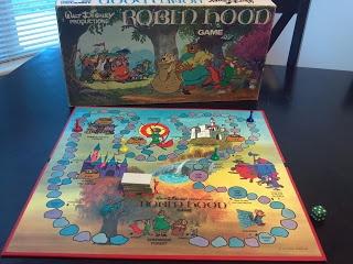 Robin Hood Game by Walt Disney Productions