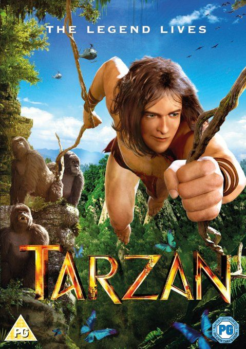 Tarzan [DVD] [2014]: Amazon.co.uk: Kellan Lutz, Robert Capron, Jaime Ray Newman, Reinhard Klooss: DVD & Blu-ray