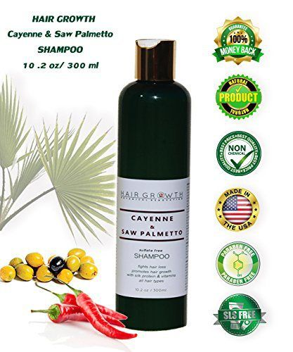 Anti-Hair-Loss Shampoo Promote Hair Growth Cayenne & Saw Palmetto. Premium Botanical Hair Loss Prevention. Powerful Hair Growth Stimulating Organic Ingredients, Fast Regrowth and Recovery 10 oz/300 ml - http://essential-organic.com/anti-hair-loss-shampoo-promote-hair-growth-cayenne-saw-palmetto-premium-botanical-hair-loss-prevention-powerful-hair-growth-stimulating-organic-ingredients-fast-regrowth-and-recovery-10-oz30/