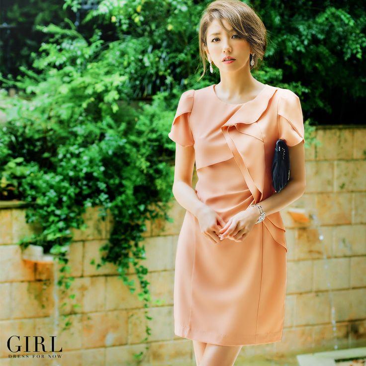 7/26放送 関西テレビ 『ニッポンのぞき見太郎』 番組内で田中美佐子様にご着用いただいたドレスはこちらです。  GIRL ラッフルドレス 通常価格:7,980円(税込) ・サイズ/S・M・L・2L ・カラー/ピンクベージュ・ルビーレッド・ダークネイビー