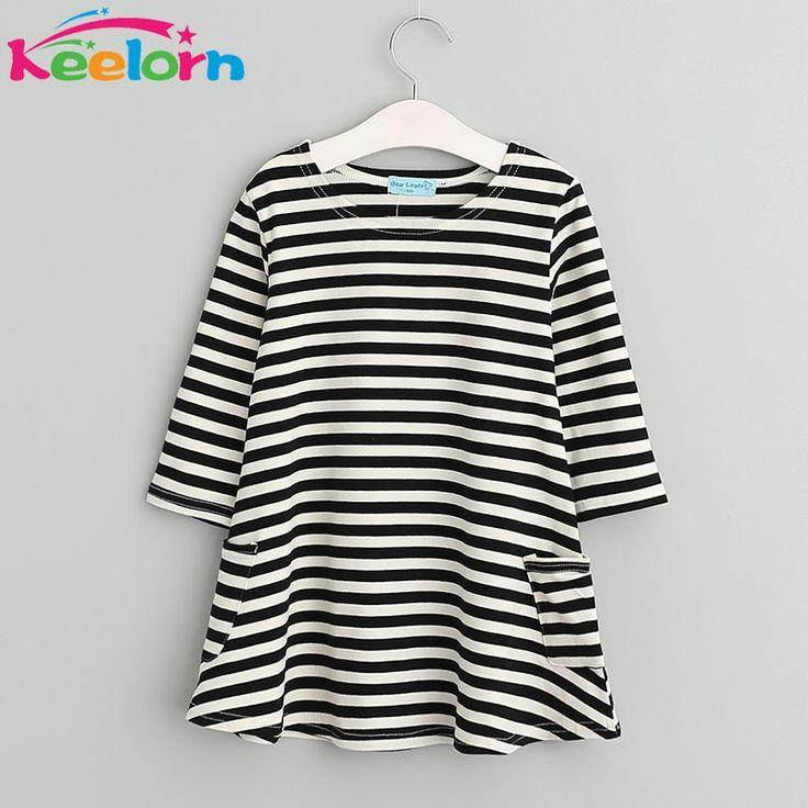 $5.65 (Buy here: https://alitems.com/g/1e8d114494ebda23ff8b16525dc3e8/?i=5&ulp=https%3A%2F%2Fwww.aliexpress.com%2Fitem%2FFree-shipping-2014-new-children-s-clothing-kids-princess-TUTU-dot-dressesAQZ060%2F2042766507.html ) Keelorn Girls dresses New girls clothing 2017 Fashion Casual style kids dresses Asymmetrical stripes party dress for just $5.65