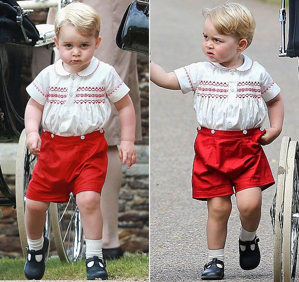 Princess Charlotte's brother proves he's just as much of a style icon as the Duchess of Cambridge