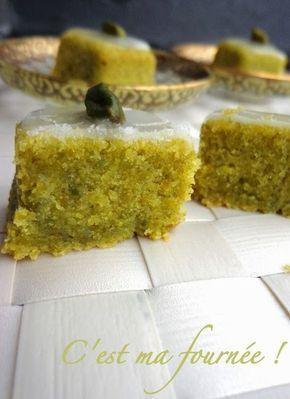Gâteau nantais pistache