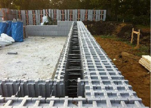 40 best insulated concrete forms images on pinterest for Icf home construction