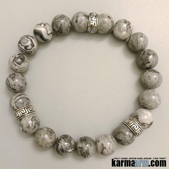 Crazy Lace Agate is a balancing and protecting stone. It brings laughter and absorbs emotional pain. #Greek #Key ♛ #BEADED #Yoga #BRACELETS #Chakra #gifts #Stretch #Womens #jewelry #Crystals #Energy #gifts #Handmade #Healing #Kundalini #Law #Attraction #LOA #Love #Mala #Meditation #prayer #Reiki #mindfulness #wisdom #Fashion #birthday #Spiritual #Tony #Robbins #Stacks #Lucky