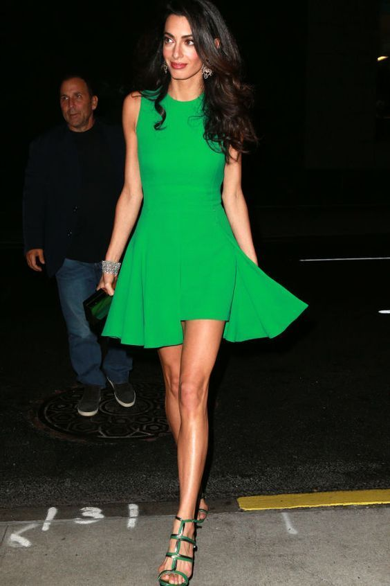Amal Clooney Fashion Style Tips for the Office: Be Loud and Proud,  #clooney #fa…