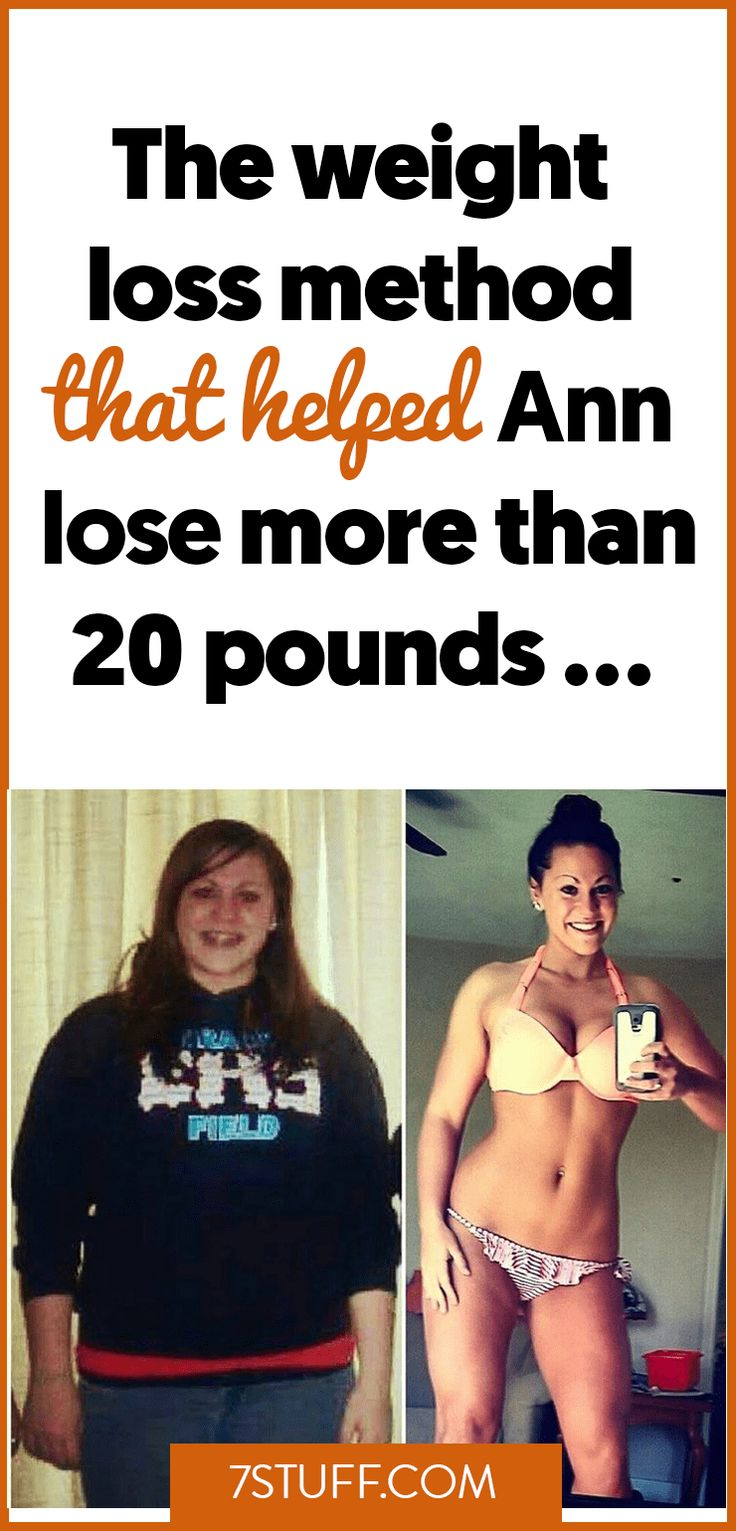 Healthy weight loss method