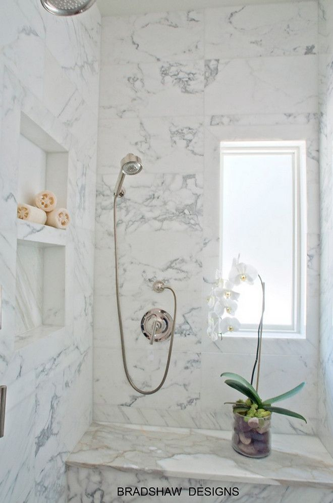 Marble shower. Marble shower size and layout. The marble shower is approx. 4…