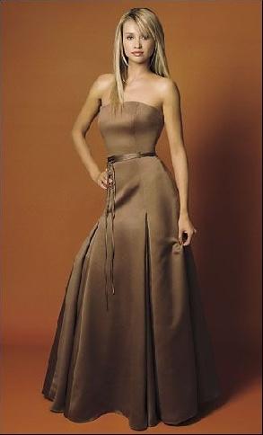 bronze bridesmaids dresses