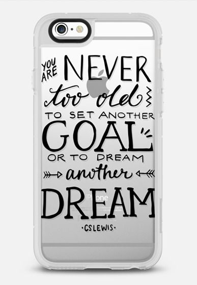 Never Too Old to Dream iPhone 6 case by Samantha Ranlet | Casetify