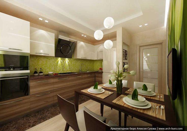 В данной статье мы рассмотрим 7 интересных и красивых дизайн проектов кухни 12 кв.м от ультрасовременного, до утонченного классического стиля.  Выбираем варианты планировки кухни 12 кв. м  Кухня 12 кв.м довольно большое помещение. Для такой кухни подойдут почти все виды планировки и расстановки мебели. Линейное расположение всего комплекта, включающего мойку, холодильник, плиту, … … Читать далее →