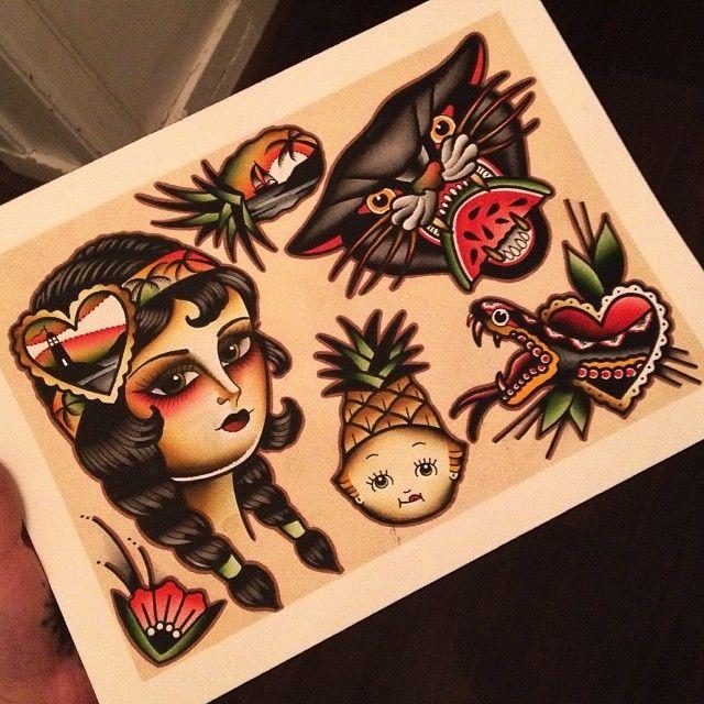 Instagram photo by @kimanh_n via ink361.com #tattoo #traditionaltattoo
