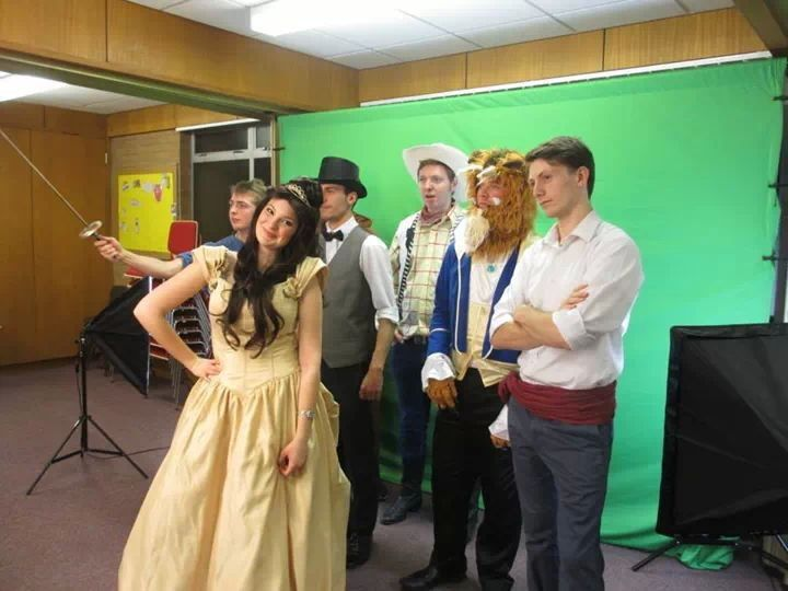 Behind the scenes of the video... ;)