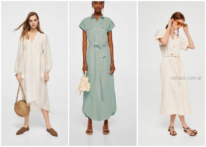 a2bb1000325a Vestido de lino - ropa de moda verano 2019 Argentina | Noticias de ...