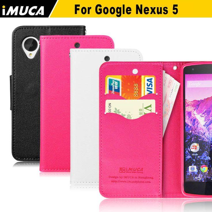 IMUCA nexus 5 case cover luxury Leather flip Wallet Case covers For LG Google Nexus 5 E980 D820 D821 phone cases accessories #Affiliate