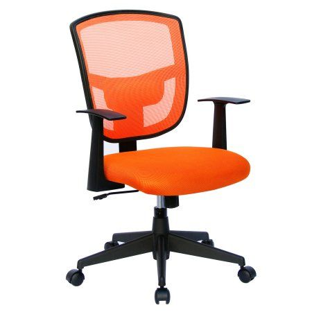 Darius Adjustable Mesh Office Chair, Orange