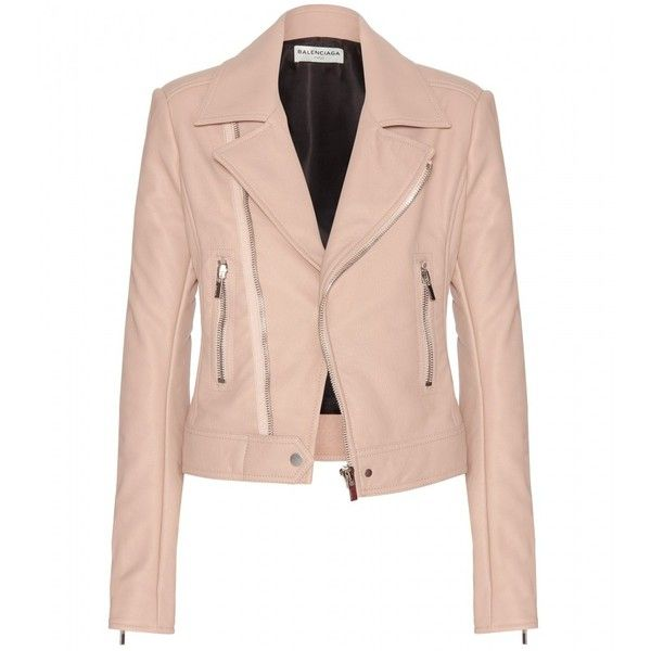 Balenciaga Leather Jacket found on Polyvore