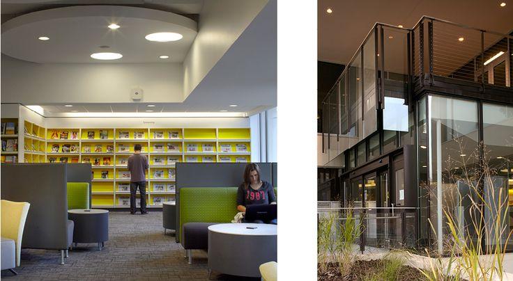 Houser walker architecture uwg library renovation