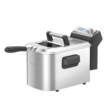 Breville - Home Appliances - Briscoes - Breville BDF500BSS Smart Deep Fryer