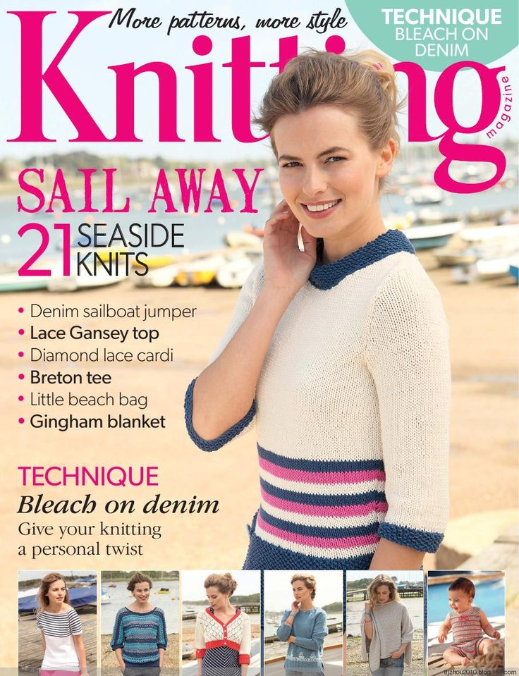 Knitting Magazine №8 2014 - 紫苏 - 紫苏的博客