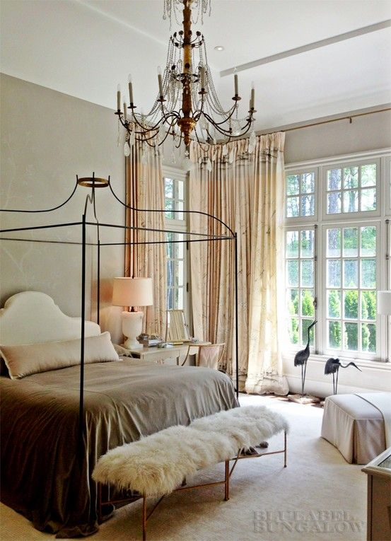 Tara Shaw Maison Canopy Bed Looks Fantastic In The Master Suite At Atlanta Decorator Showhouse